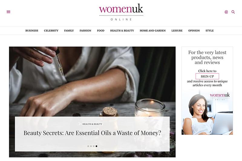Online Women's Magazine