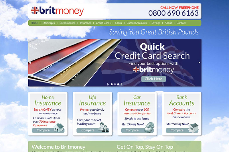 Britmoney is an exciting UK based comparison site.
