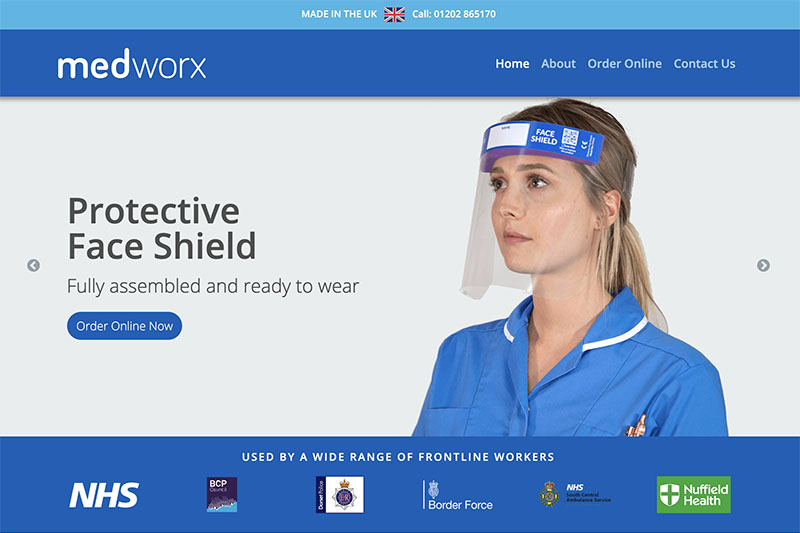 UKs largest manufacturer of PPE face shields